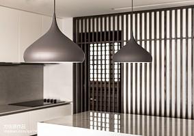 精美面积130平别墅厨房现代装修图片