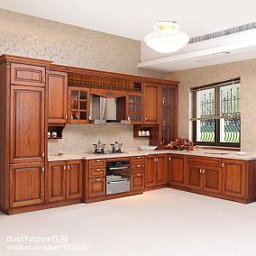 欧式厨房整体装修效果图欣赏