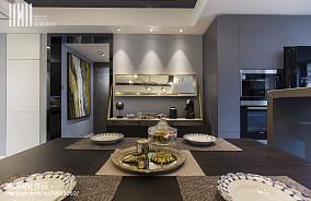 2018105平米三居餐厅现代装修设计效果图