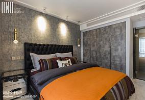 轻奢95平现代三居布置图三居现代简约家装装修案例效果图