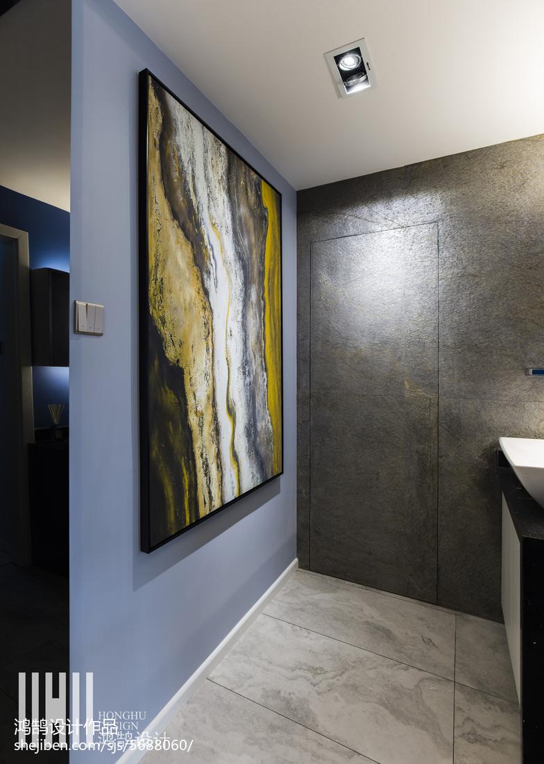 平现代三居卫生间装修图卫生间现代简约卫生间设计图片赏析