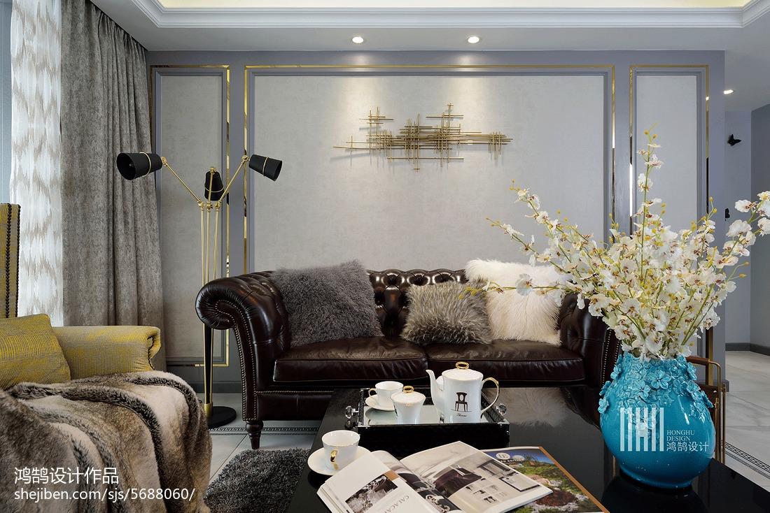 精选108平方三居客厅现代欣赏图片客厅2图