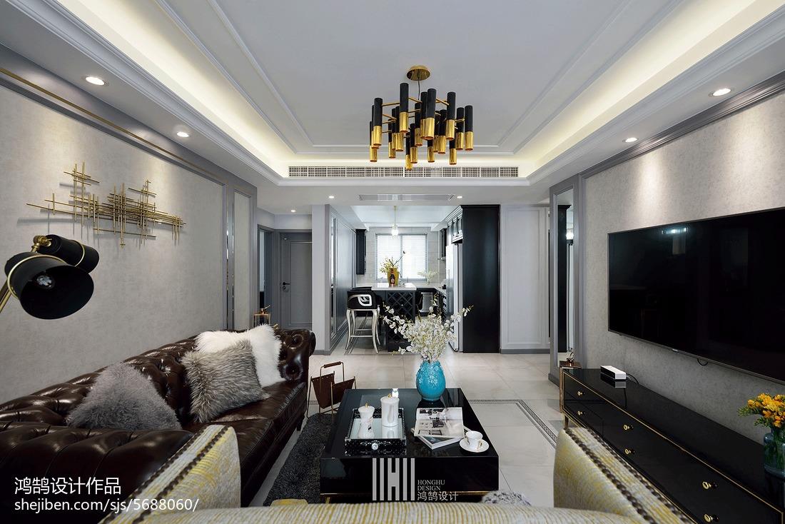 精选面积104平现代三居客厅装饰图片大全客厅3图