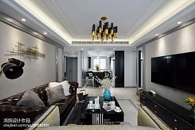 精选面积104平现代三居客厅装饰图片大全
