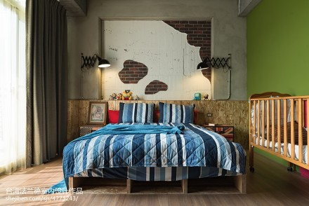 LOFT风格卧室卧室