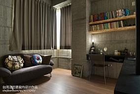 精美128平米复式书房装修欣赏图片大全