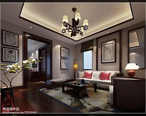 小户型工业风格家装客厅装修