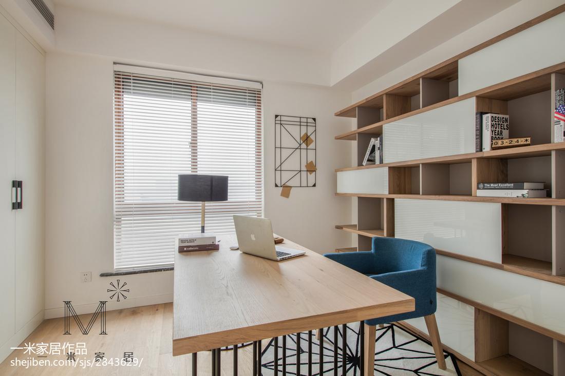 优雅97平日式三居书房装修效果图功能区日式功能区设计图片赏析