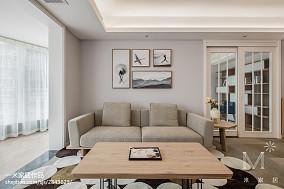 热门面积96平日式三居客厅欣赏图片121-150m²三居日式家装装修案例效果图