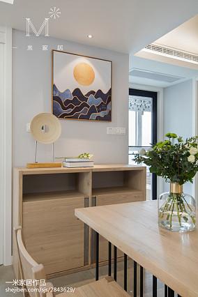 精选日式三居餐厅实景图片欣赏121-150m²三居日式家装装修案例效果图