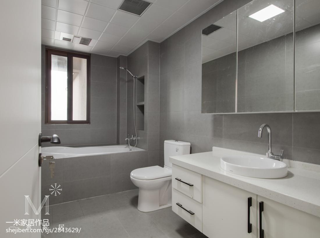 2018面积92平日式三居卫生间实景图片欣赏卫生间日式卫生间设计图片赏析