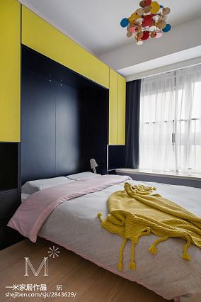 精选北欧三居儿童房装修设计效果图三居北欧极简家装装修案例效果图