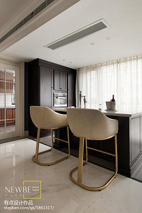 美式四居室吧台设计
