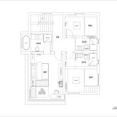 质朴984平北欧别墅设计图