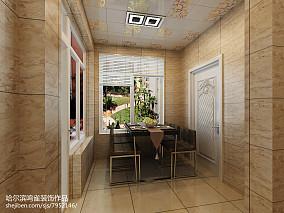 简约两居室内设计效果图片