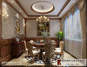 热门114平米欧式别墅装修设计效果图