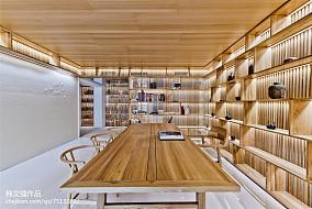 精美别墅书房现代装修效果图片