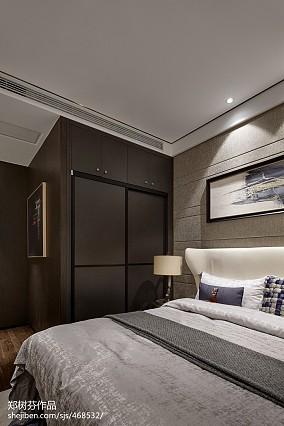 2018东南亚别墅卧室装修设计效果图片