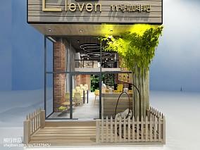 欧式现代餐饮空间设计图片