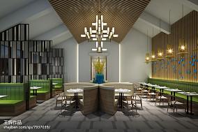 美式凯悦金砂家装餐厅