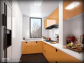 2018精选89平米二居厨房简欧欣赏图片大全餐厅北欧极简设计图片赏析