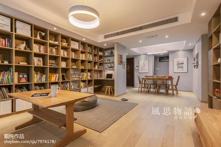 精美日式四居客厅装修设计效果图片欣赏客厅