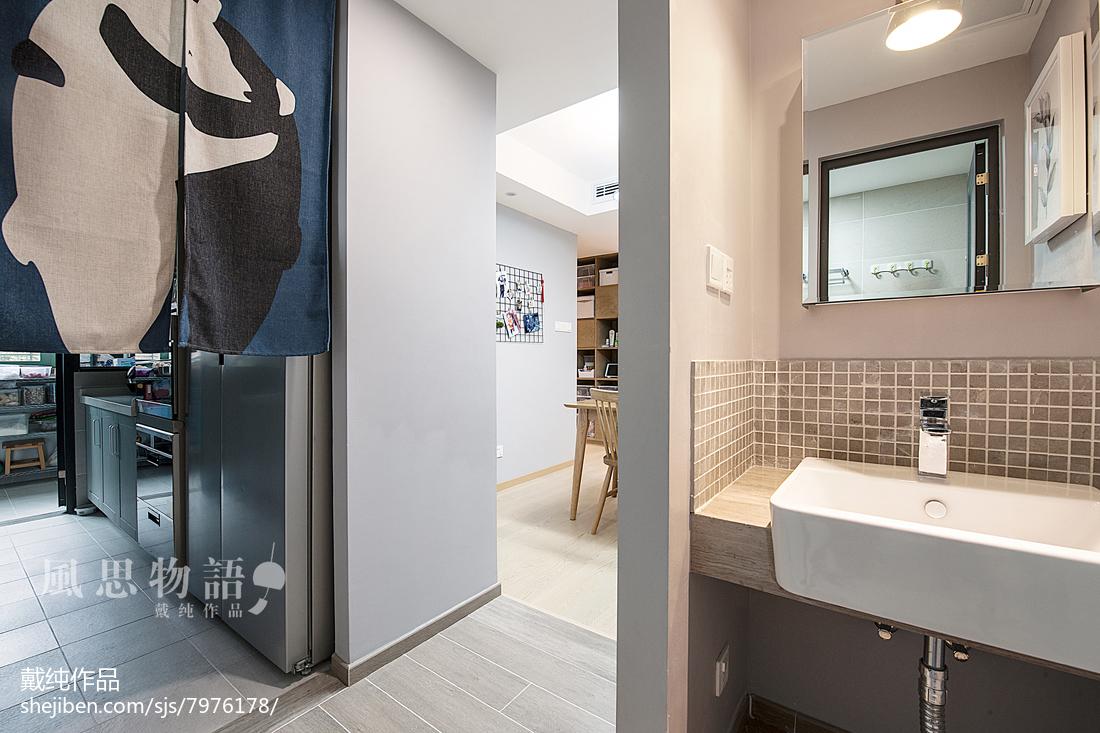 精选四居卫生间日式装修欣赏图卫生间日式卫生间设计图片赏析