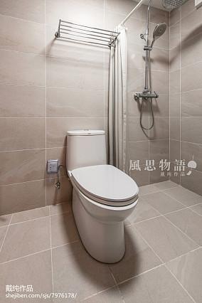 平日式四居卫生间设计案例卫生间日式设计图片赏析