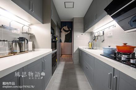 热门四居厨房日式设计效果图餐厅