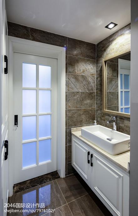 现代简约卫浴柜卫生间