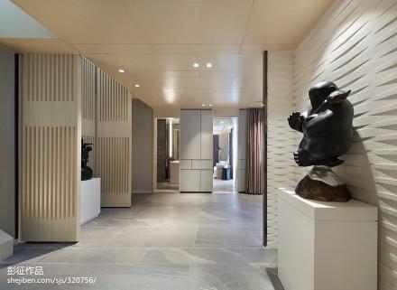 精选中式别墅过道实景图片欣赏别墅豪宅中式现代家装装修案例效果图