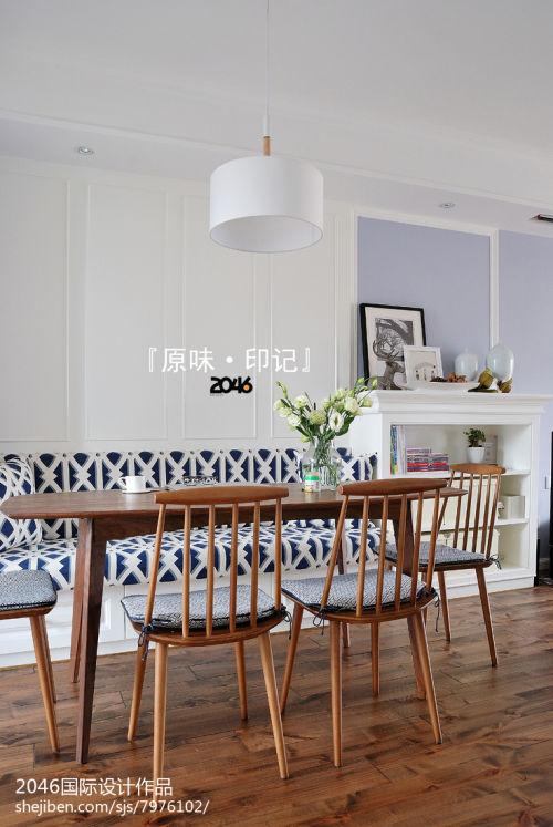 质朴135平北欧四居客厅装修案例厨房木地板121-150m²四居及以上北欧极简家装装修案例效果图