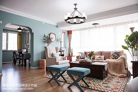 美式客厅软装
