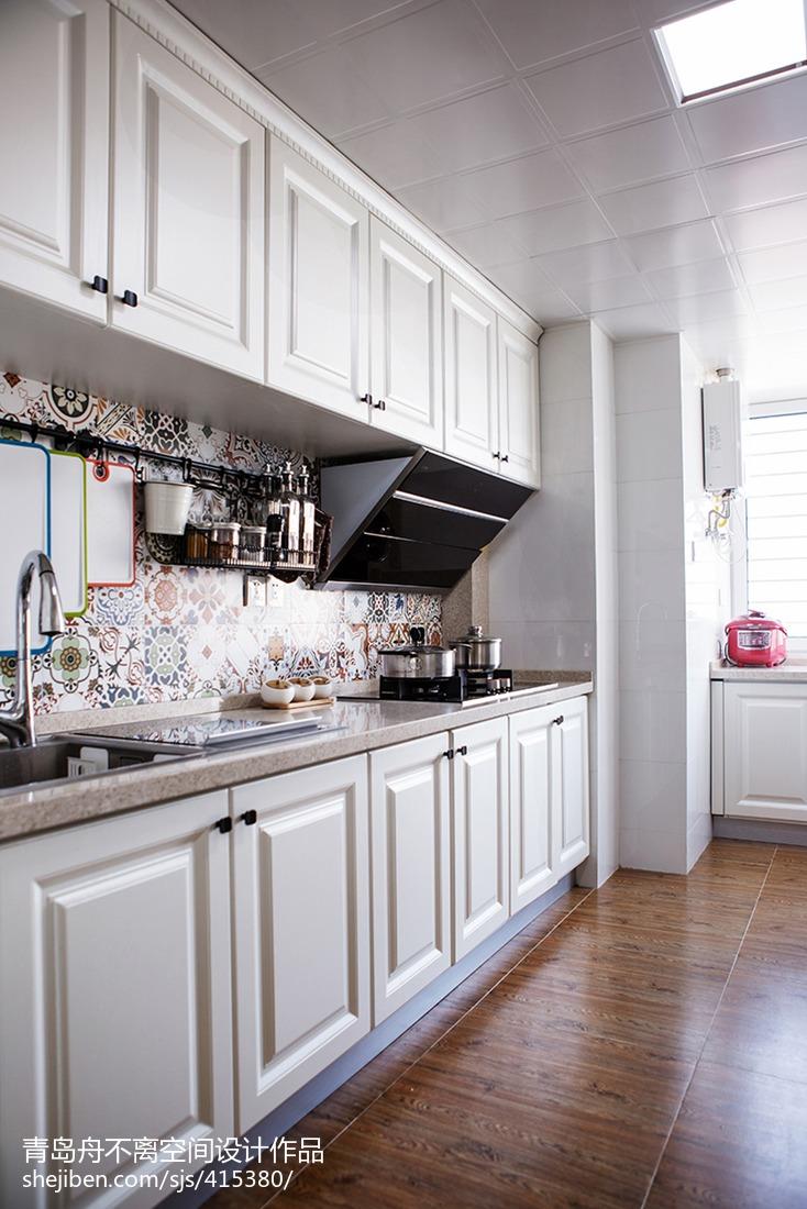 整体橱柜图片餐厅美式经典厨房设计图片赏析