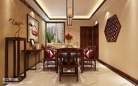日式风格别墅大厅楼梯装修设计