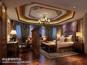 美式家装别墅二层户型图