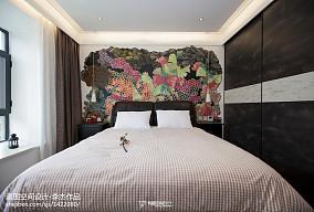 2018精选108平方三居卧室现代效果图片欣赏