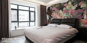 精美面积100平现代三居卧室装修欣赏图
