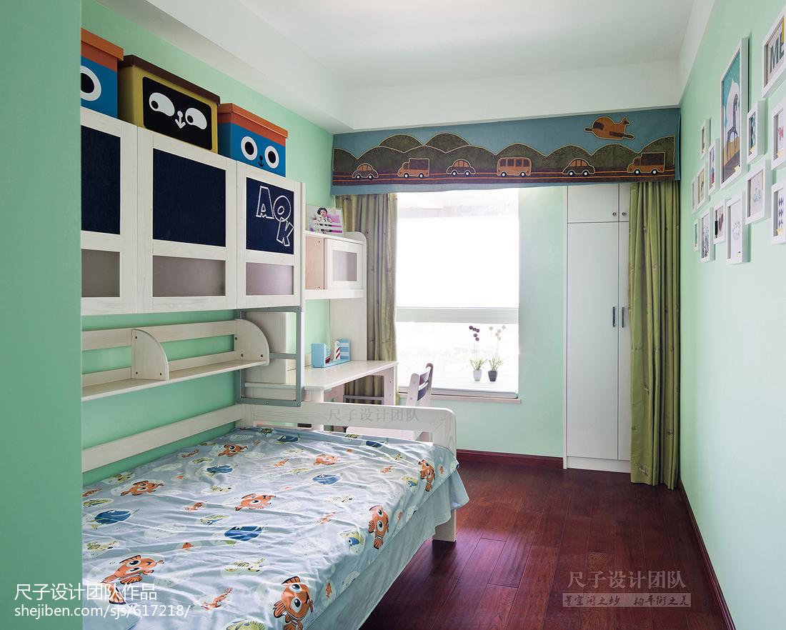 热门134平米四居儿童房现代装修效果图片