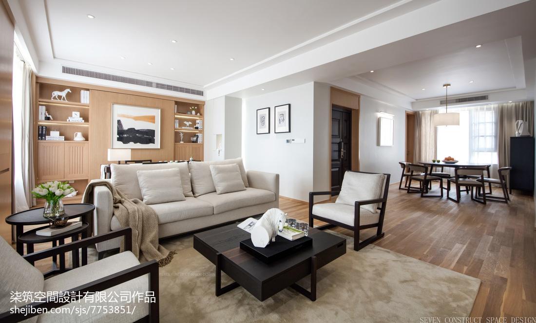 现代客厅茶几装修客厅现代简约客厅设计图片赏析