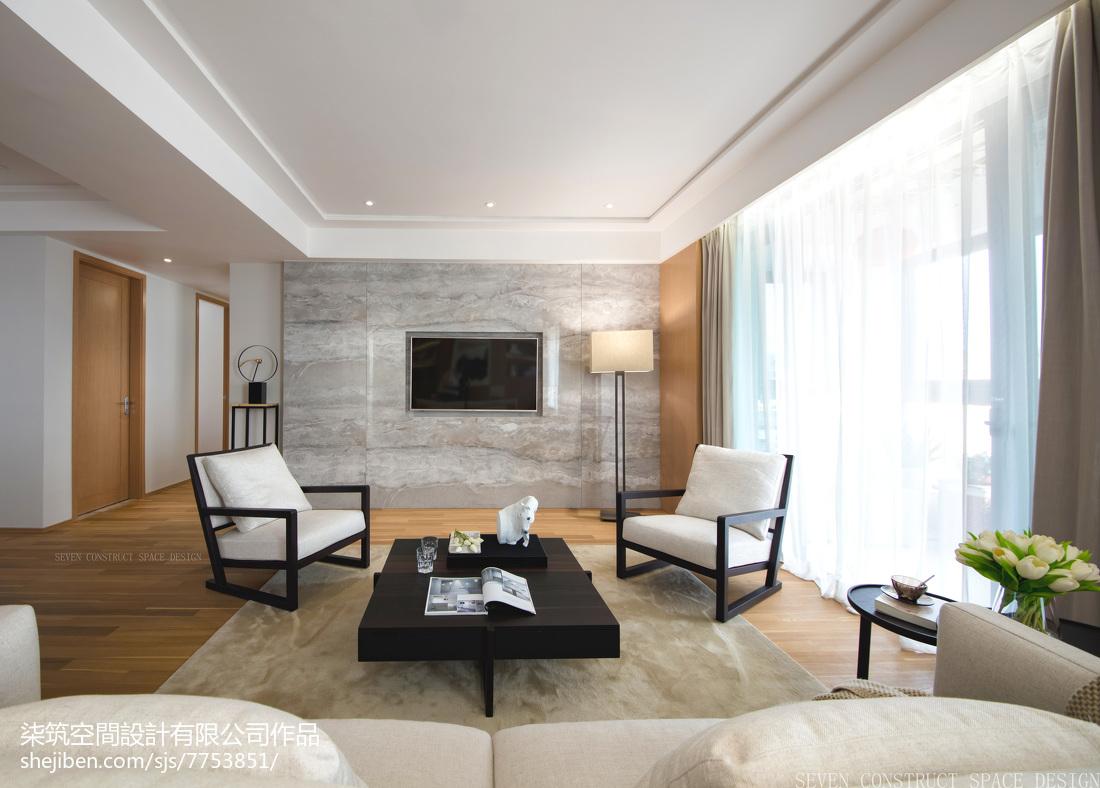 现代客厅落地灯客厅现代简约客厅设计图片赏析