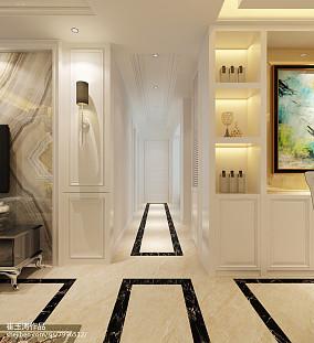面积95平美式三居装饰图片大全