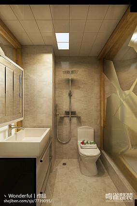现代简装房间设计实景图