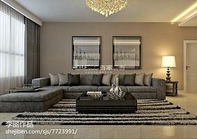 欧式新古典风格四居室图片大全欣赏