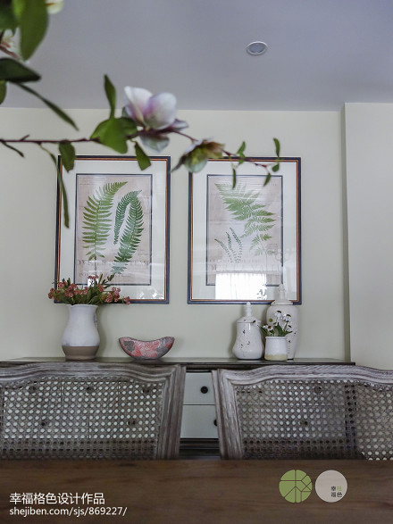 质朴732平田园别墅餐厅装修设计图厨房