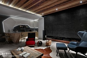 精选137平米现代别墅客厅效果图