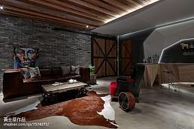 面积113平别墅客厅现代装饰图片大全