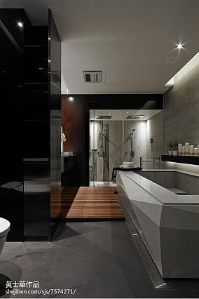 精美现代别墅卫生间装饰图片欣赏