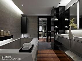 精美130平米现代别墅卫生间装修设计效果图片欣赏