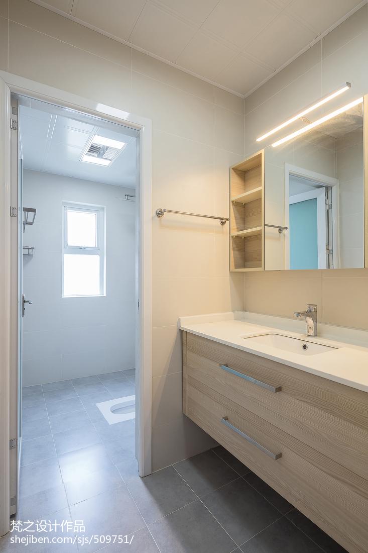 精选105平米三居卫生间日式装修欣赏图片大全卫生间日式卫生间设计图片赏析